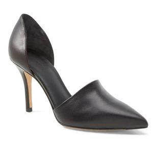 VINCE Claire D Orsay Pumps- Black- Size 9.5